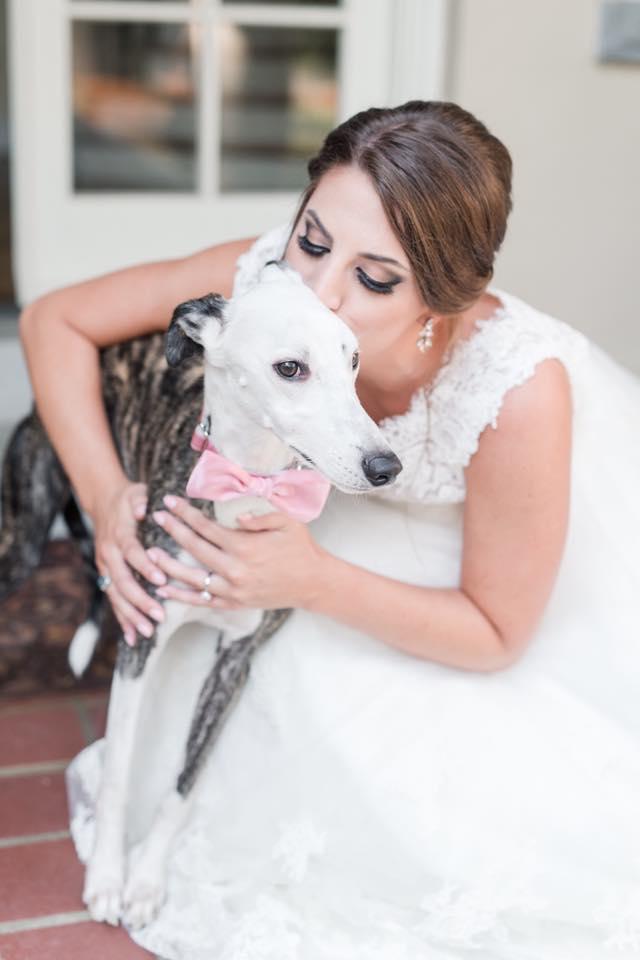 Maverick at his mom's wedding