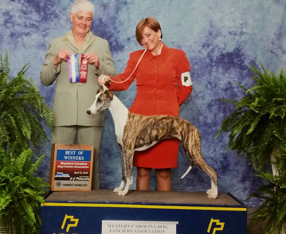 Helga win photo with Judge Neena Van Camp